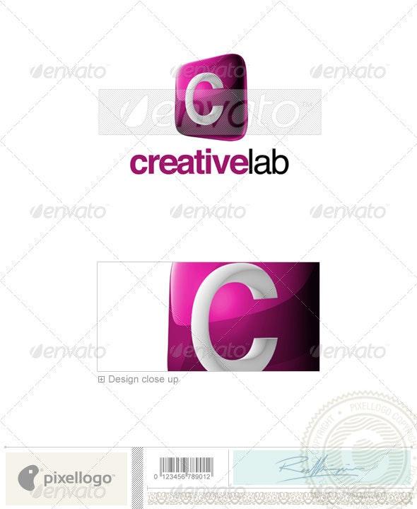 C Logo - 3D-687-C - Letters Logo Templates