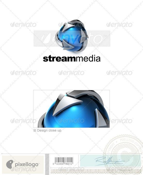 Technology Logo - 3D-715 - 3d Abstract