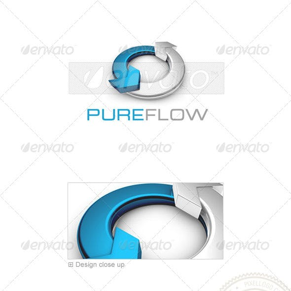 Marketing Logo - 3D-718