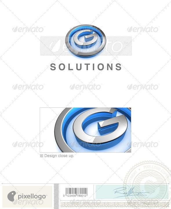 G Logo - 3D-683-G - Letters Logo Templates