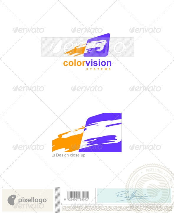 Print & Design Logo - 708 - Vector Abstract