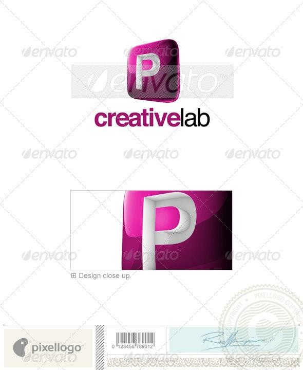 P Logo - 3D-687-P - Letters Logo Templates