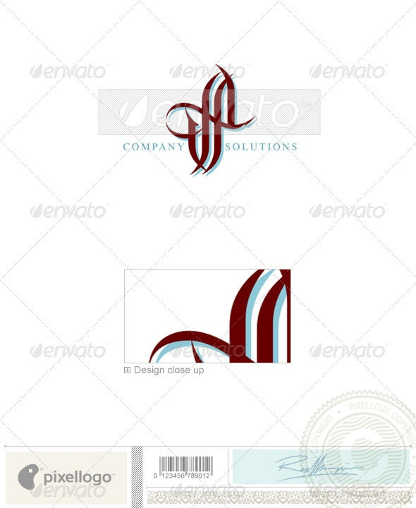 Business & Finance Logo - 905 - Vector Abstract