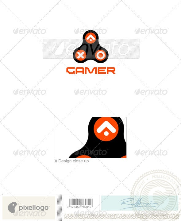 Technology Logo - 838 - Vector Abstract