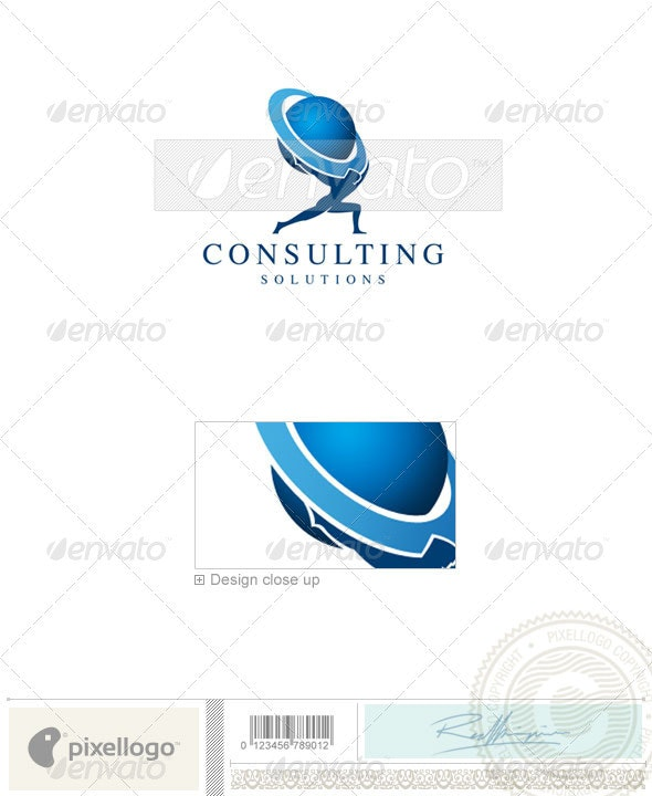 Business & Finance Logo - 992 - Vector Abstract