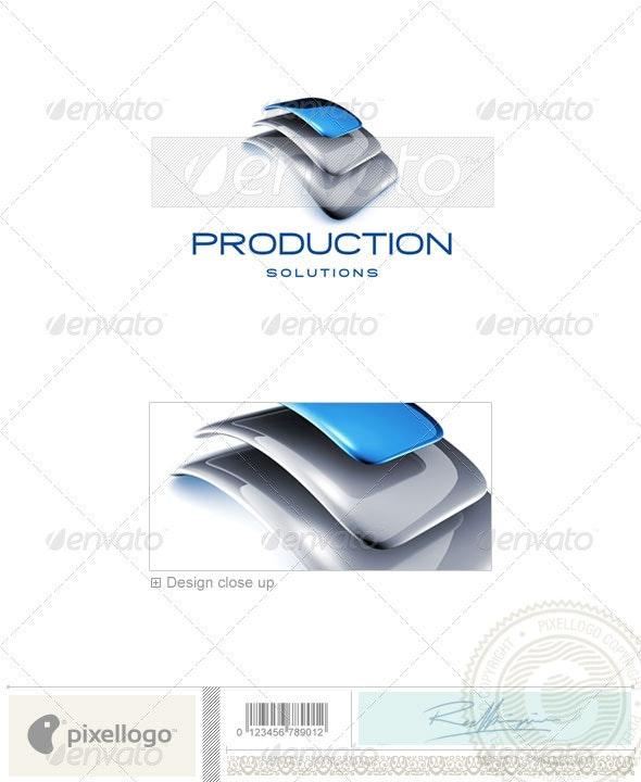 Business Logo - 3D-725 - 3d Abstract