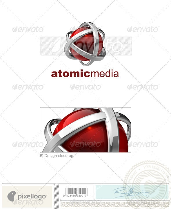 Technology Logo - 3D-546 - 3d Abstract