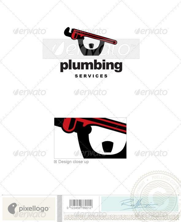 Plumbing Logo - 2263 - Humans Logo Templates
