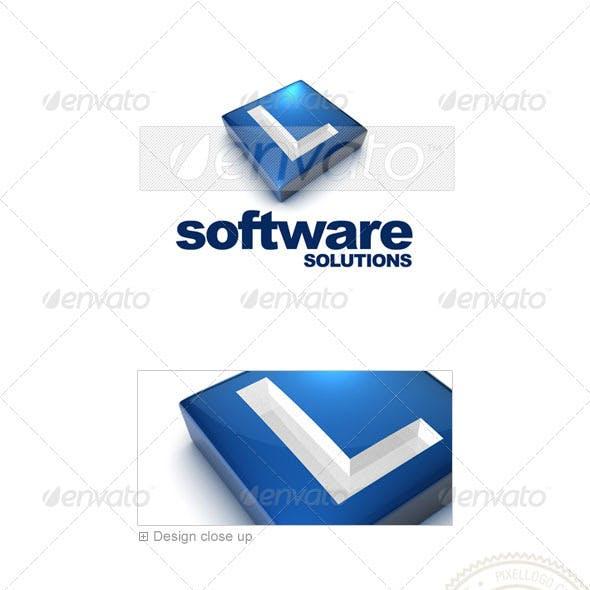 L Logo - 3D-644-L