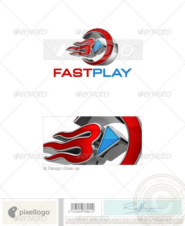 Activities & Leisure Logo - 3D-607 - 3d Abstract