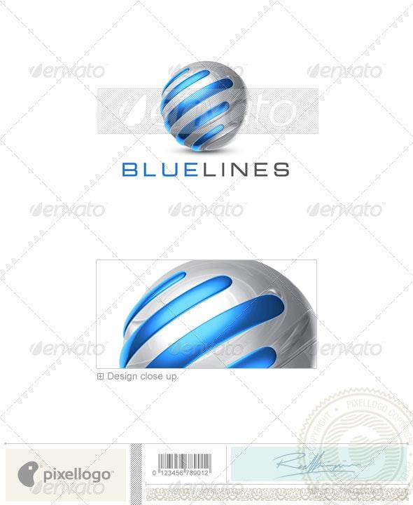 Technology Logo - 3D-706 - Symbols Logo Templates
