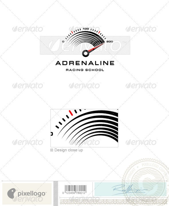 Transport Logo - 990 - Vector Abstract