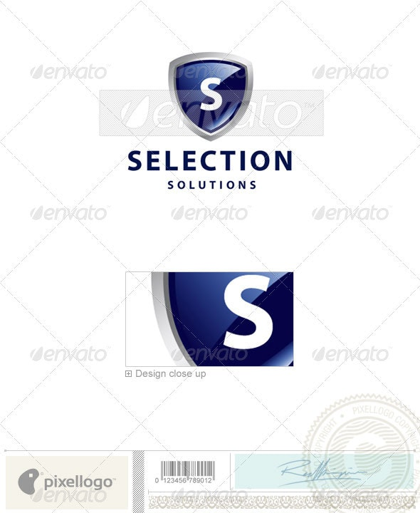Security Logo - 2253 - Letters Logo Templates