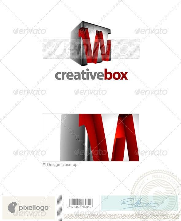 W Logo - 3D-554-W - Letters Logo Templates