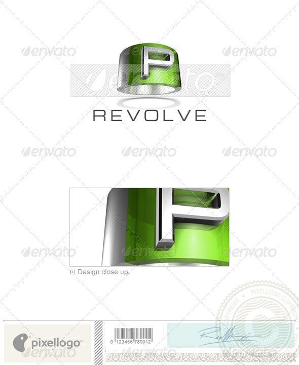 P Logo - 3D-547-P - Letters Logo Templates