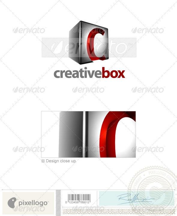 C Logo - 3D-554-C - Letters Logo Templates
