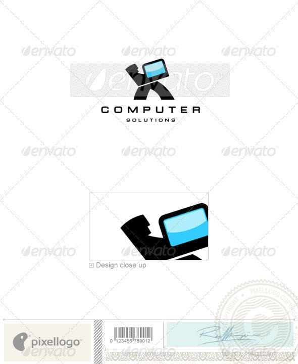 Technology Logo - 945 - Objects Logo Templates