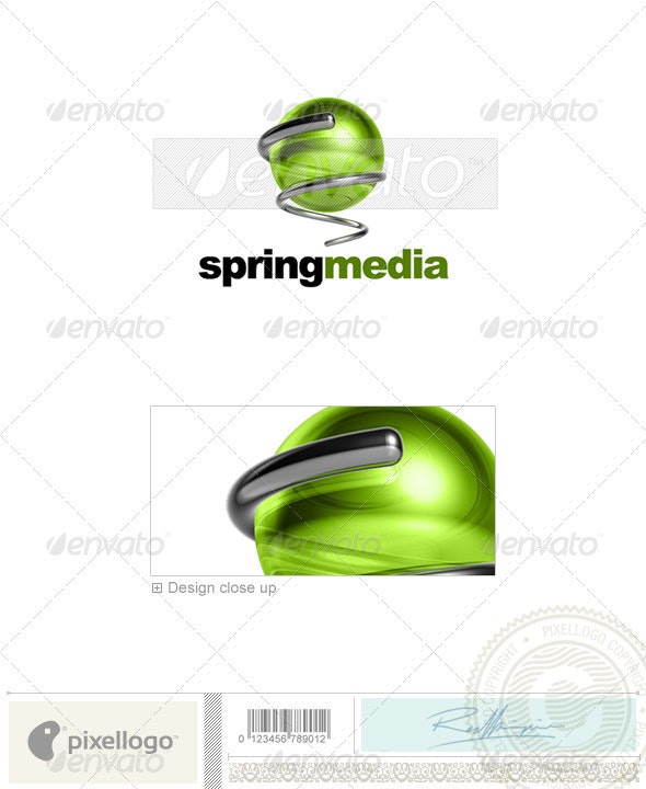 Communications Logo - 3D-535 - 3d Abstract