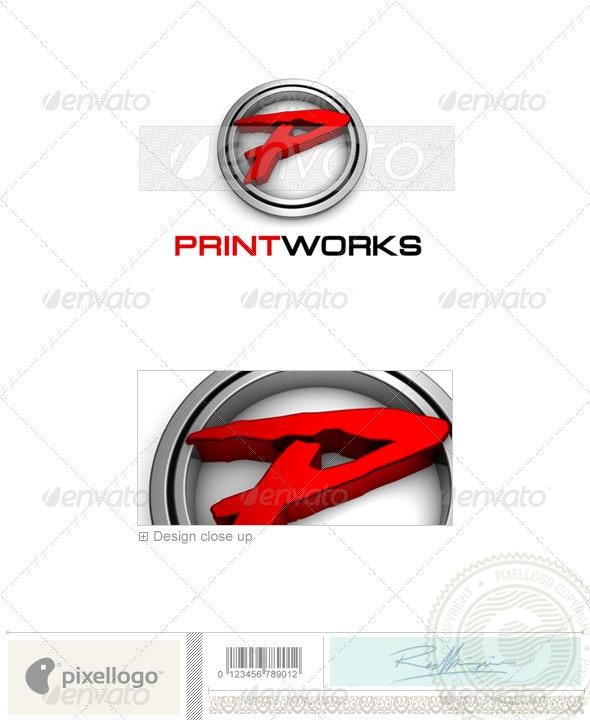 Print & Design Logo - 3D-679 - 3d Abstract