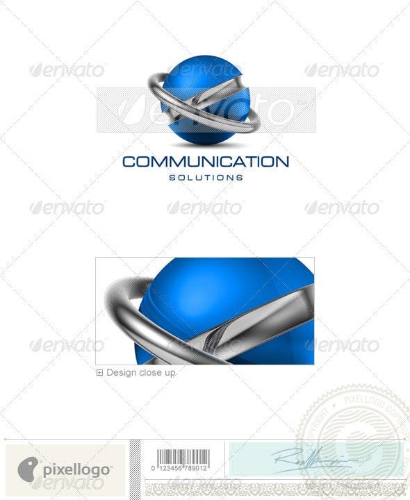 Communications Logo - 3D-506 - 3d Abstract