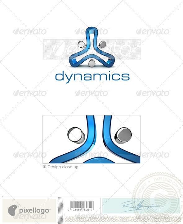 Technology Logo - 3D-682 - 3d Abstract