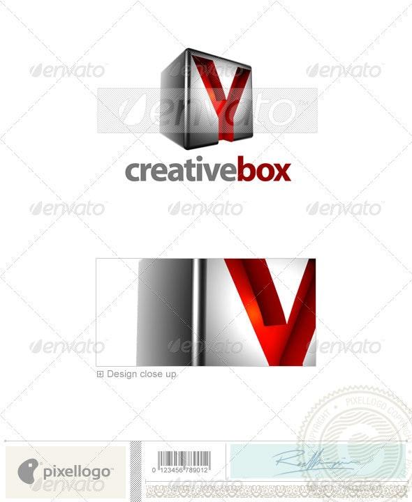 Y Logo - 3D-554-Y - Letters Logo Templates