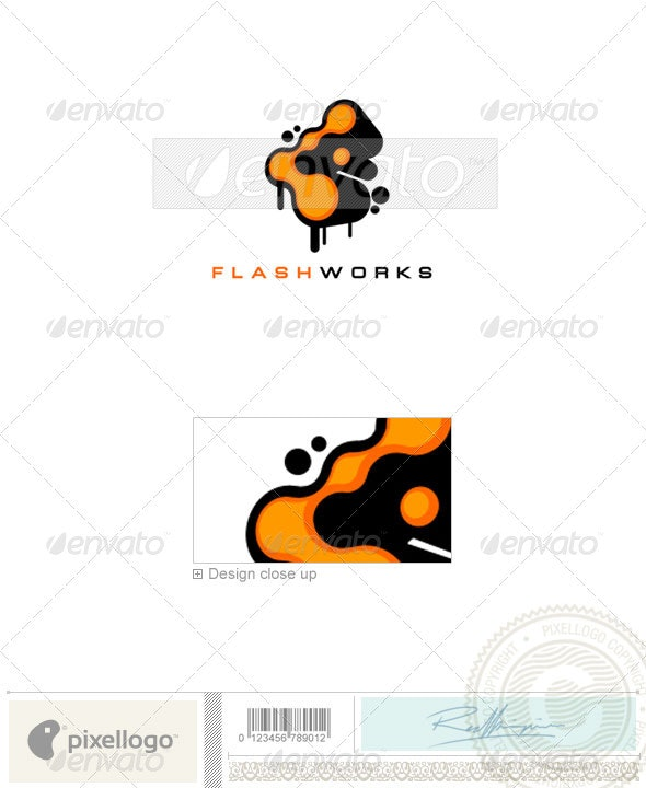 Print & Design Logo - 842 - Vector Abstract