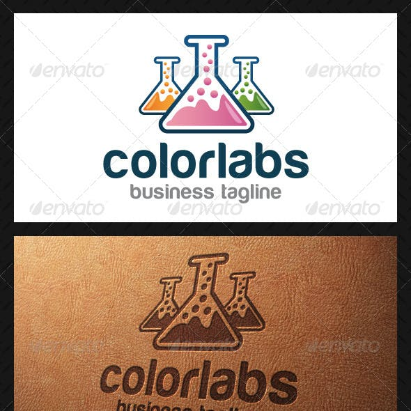 Color Labs Logo Template