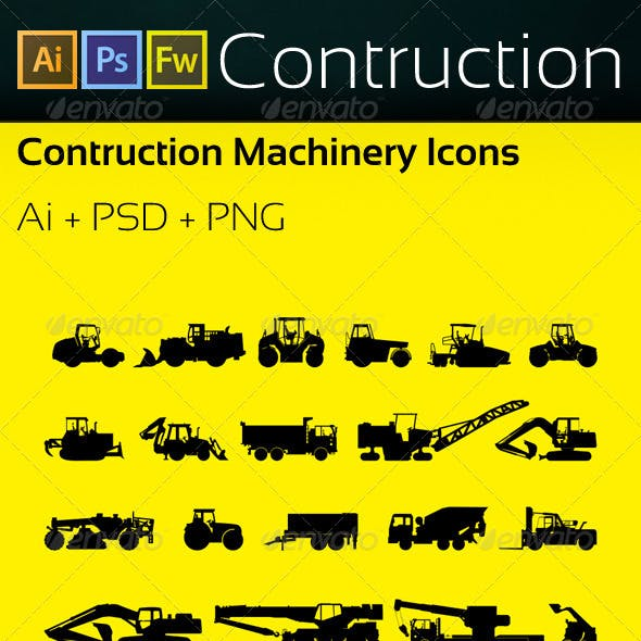 Machinery Icons