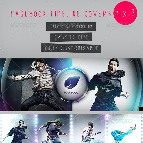 Facebook Timeline Covers Mix 3