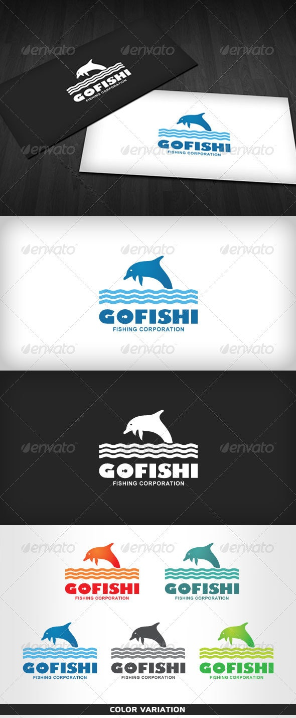 GoFishi – Logo for Fishing Company - Animals Logo Templates