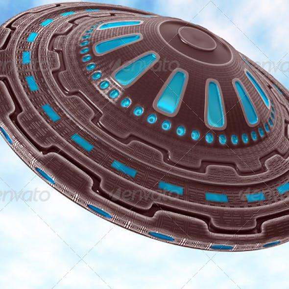 UFO of aliens