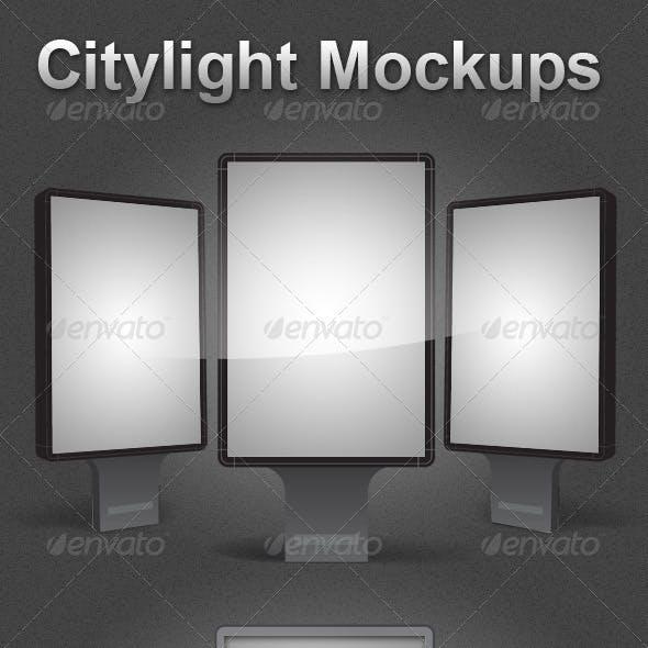 2 Citylight Mockups