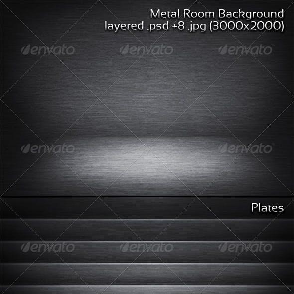 Metal Room Background