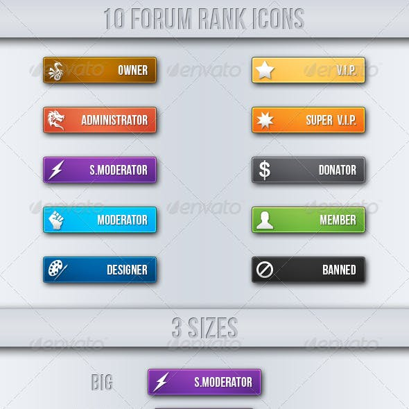 Simple Forum Rank Icons