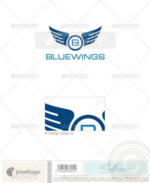 Aviation Logo 2296 By Pixellogo Graphicriver