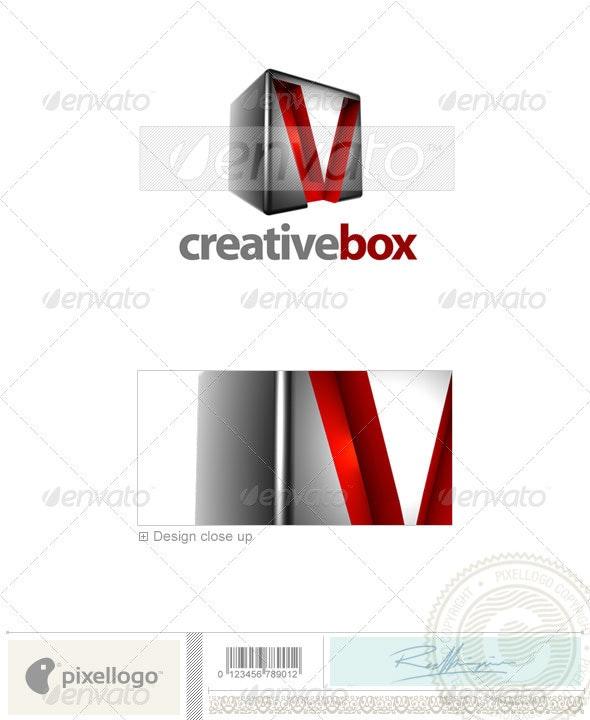 V Logo - 3D-554-V - Letters Logo Templates