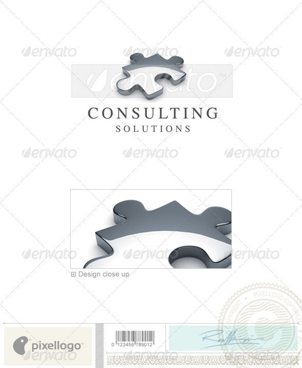 Business & Finance Logo - 3D-627 - 3d Abstract