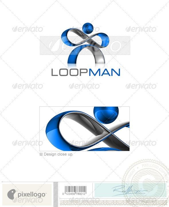 Technology Logo - 3D-514 - 3d Abstract