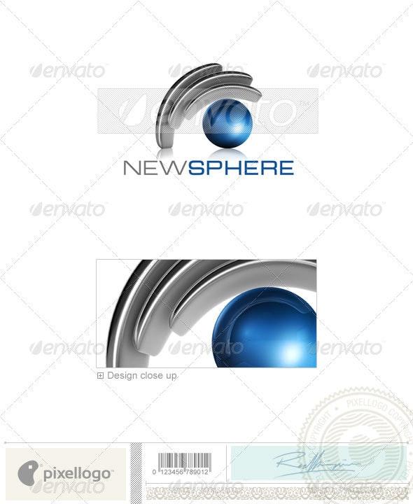 Technology Logo - 3D-541 - 3d Abstract