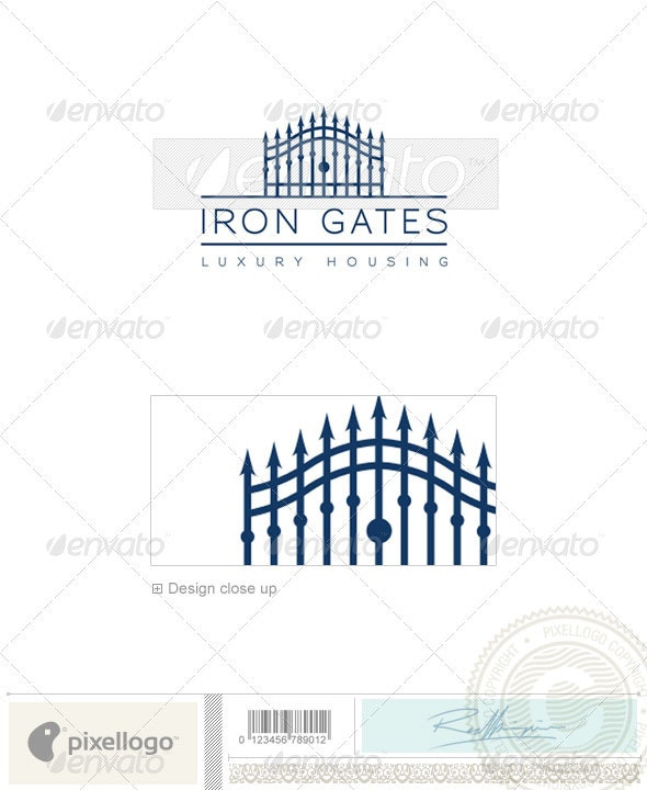 Home & Office Logo - 1781 - Objects Logo Templates