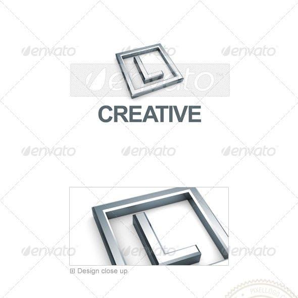L Logo - 3D-295-L