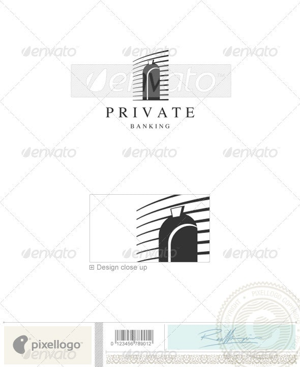 Home & Office Logo - 727 - Buildings Logo Templates