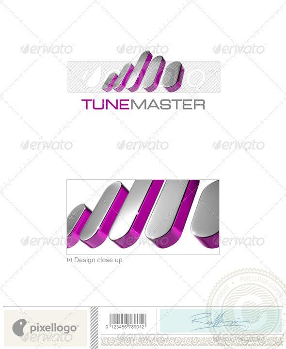 Music Logo - 3D-712 - 3d Abstract