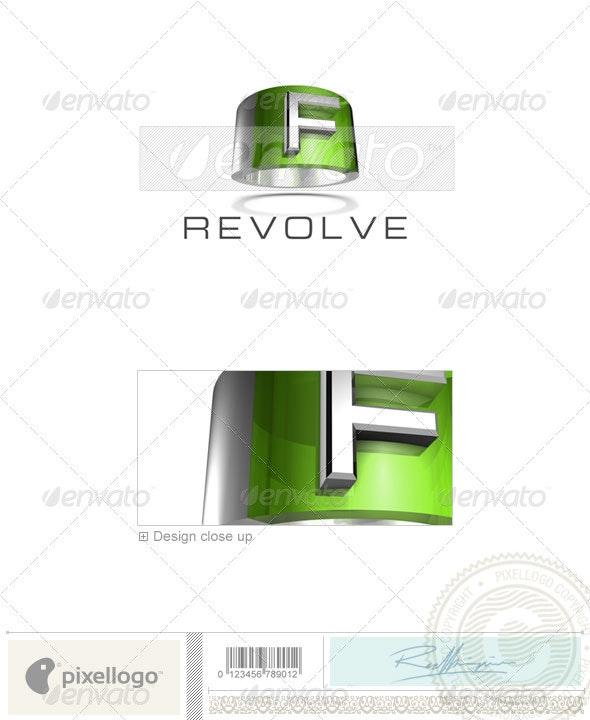 F Logo - 3D-547-F - Letters Logo Templates