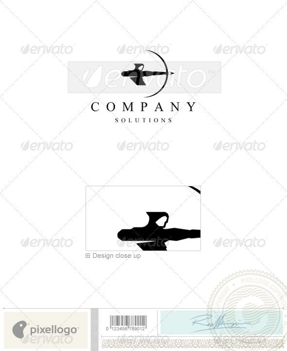 Business & Finance Logo - 1000 - Humans Logo Templates