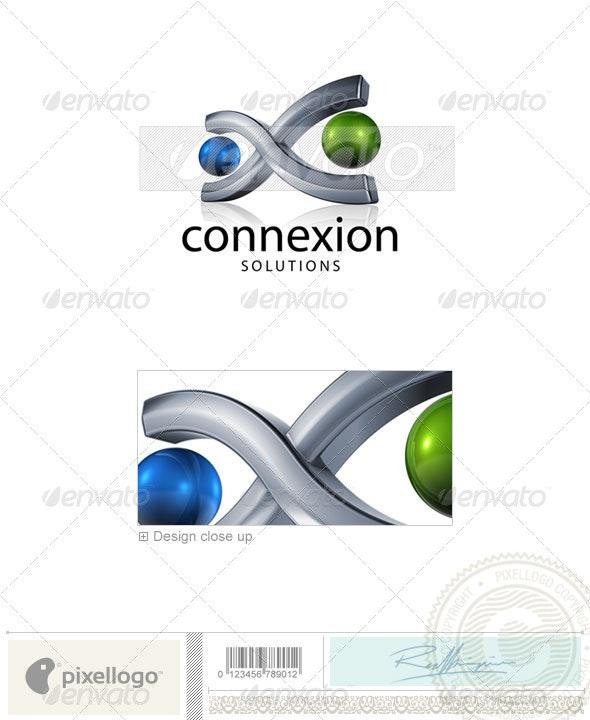Communication Logo - 3D746 - 3d Abstract
