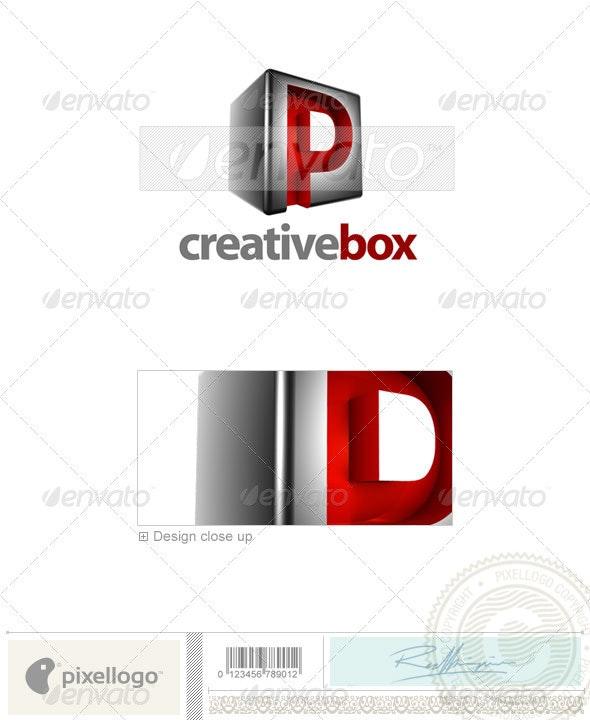P Logo - 3D-554-P - Letters Logo Templates
