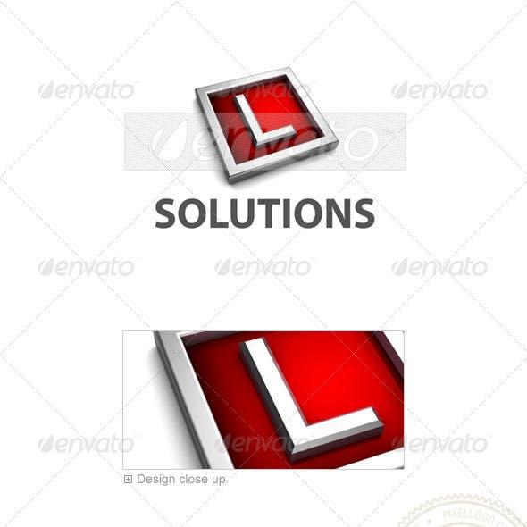 L Logo - 3D-549-L