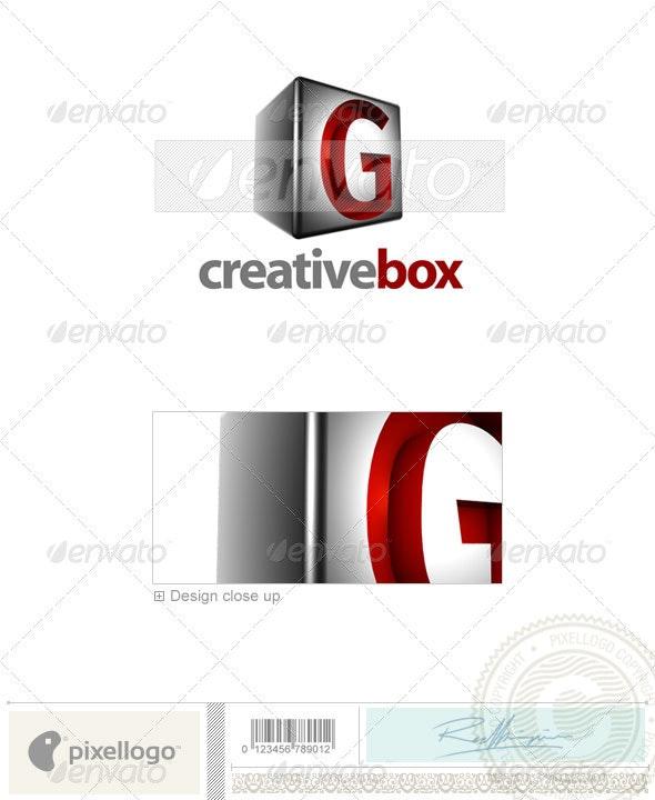 G Logo - 3D-554-G - Letters Logo Templates